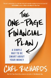 One Page Financial Plan Book