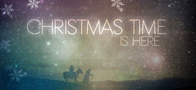Christmas Time is Here Graphic